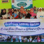 HASMI Bandung – Berbagi Paket Sembako untuk Dhuafa